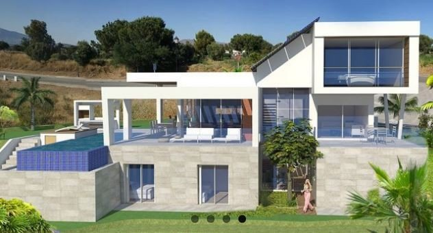 New villa development in Marbella