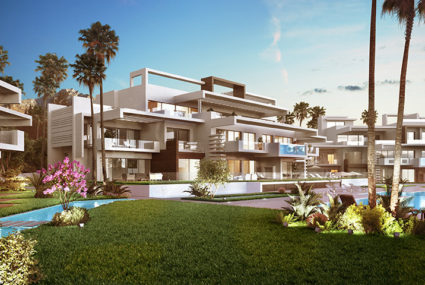 Marbella Golden Mile apartment till salu